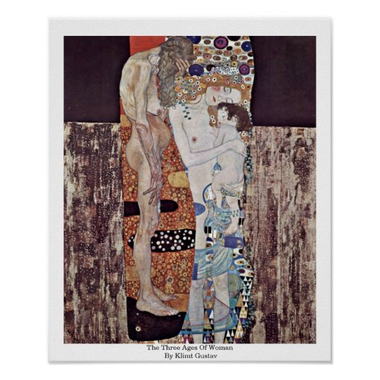 The Three Ages Of Woman By Klimt Gustav