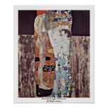 The Three Ages Of Woman By Klimt Gustav Posters