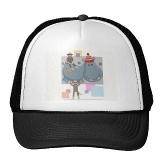 The Three Amigos. Hats