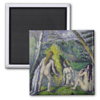 The Three Bathers, c.1879-82 Magnet