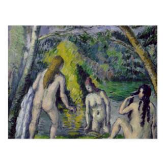 The Three Bathers, c.1879-82 Postcard