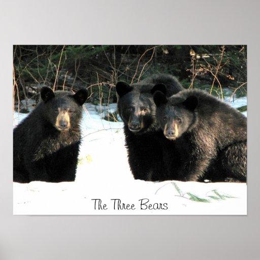 The Three Bears, The Three Bears Poster