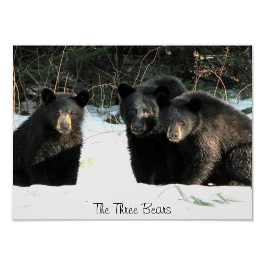 The Three Bears, The Three Bears Poster