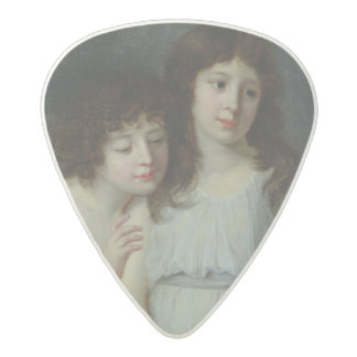 The Three Children of Monsieur Langlois Acetal Guitar Pick
