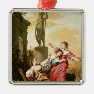 The Three Daughters of Cecrops Christmas Ornament