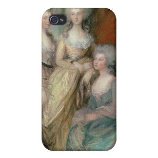 The three eldest daughters of George III: Princess iPhone 4 Case