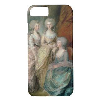 The three eldest daughters of George III: Princess iPhone 8/7 Case