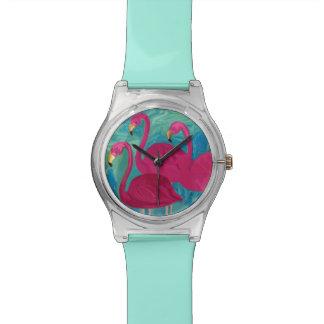 The Three Flamigos Wristwatch