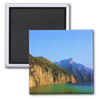 The Three Gorges, China Square Magnet