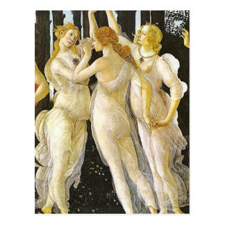 The Three Graces by Sandro Botticelli Postcard