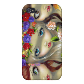 """""""The Three Graces"""" iPhone 4 Case"""