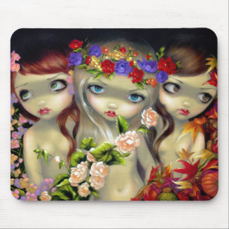 The Three Graces Mousepad