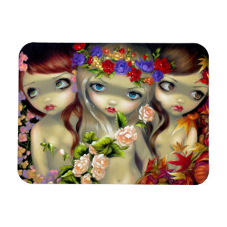 """The Three Graces"" Premium Magnet"