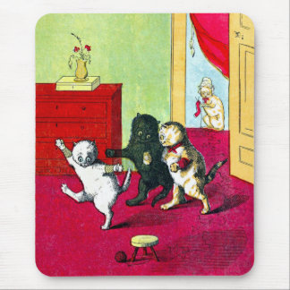 The Three Little Kittens Mouse Pads
