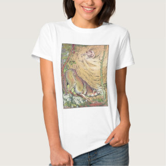 The Three Little Pigs Straw House Fairy Tale 1904 Tee Shirts