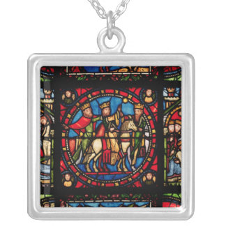 The Three Magi Silver Plated Necklace