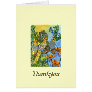 The Three Muskatiels Stationery Note Card
