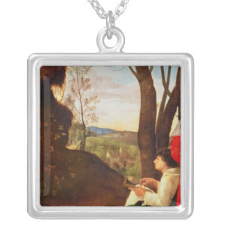The Three Philosophers Silver Plated Necklace