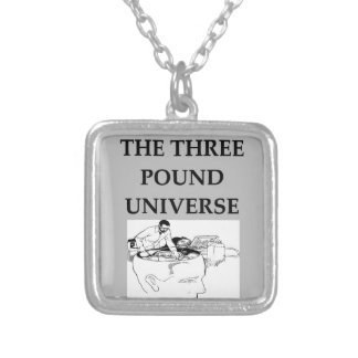 the three pound universe personalized necklace