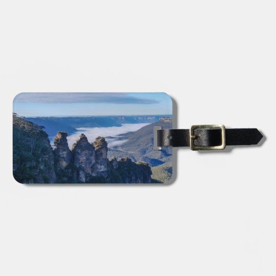 The Three Sisters, The Blue Mountains, Australia Luggage Tag