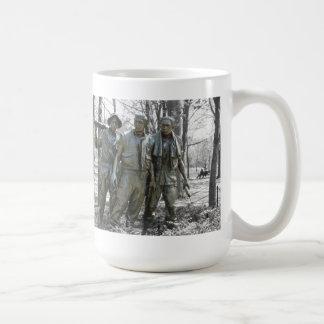 The Three Soldiers Basic White Mug