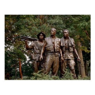 The Three Soldiers Postcard