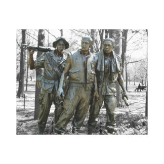 The Three Soldiers Stretched Canvas Prints