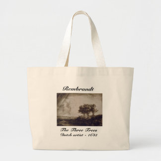 The Three Trees Canvas Bags