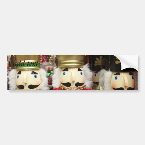 The Three Wise Crackers Bumper Sticker