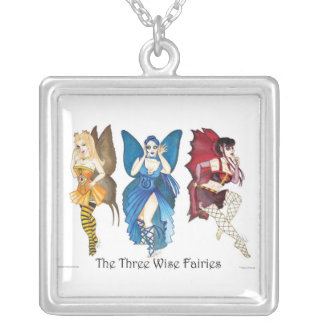 The Three Wise Fairies Necklace