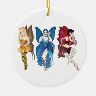 The Three Wise Fairies Ornament
