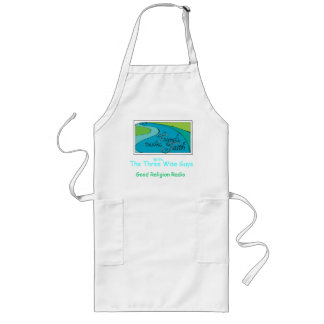 The Three Wise Guys Shmata Long Apron