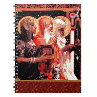 The Three Wise Men. Christmas Gift  Notebook