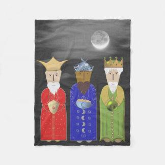 The Three Wise Men Fleece Blanket