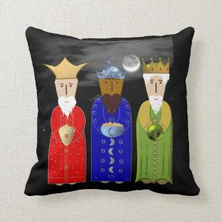 The Three Wise Men Throw Pillow Cushion