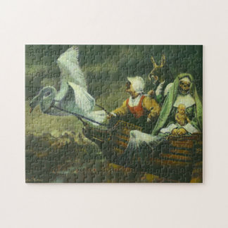 The Three Witches Jigsaw Puzzle