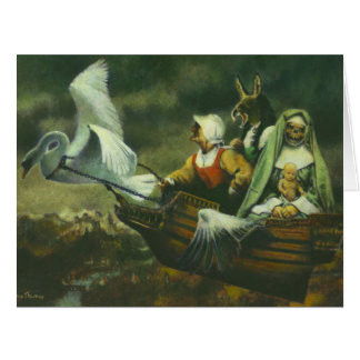 The Three Witches Large Greetings Card