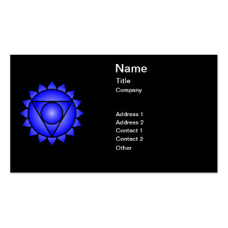 The Throat Chakra Business Cards