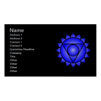 The Throat Chakra Pack Of Standard Business Cards