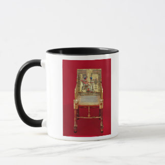 The throne, from the Tomb of Tutankhamun Mug