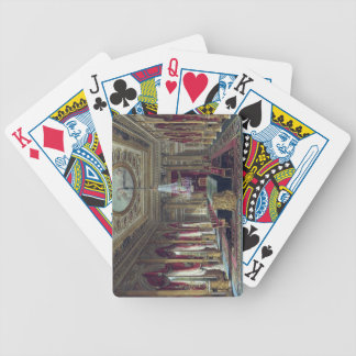 The Throne Room, Carlton House, from 'The History Bicycle Playing Cards