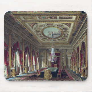 The Throne Room, Carlton House, from 'The History Mouse Mat