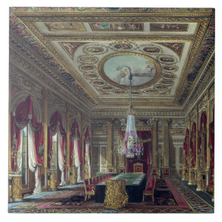 The Throne Room, Carlton House, from 'The History Tile