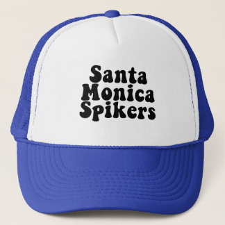 The Throwback Santa Monica Spikers 70's Hat! Trucker Hat