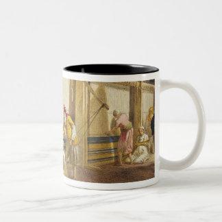 The Thug School of Industry, Jubbulpore, 1863 (chr Two-Tone Coffee Mug