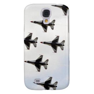 The Thunderbirds form a 6-ship Delta formation Galaxy S4 Case