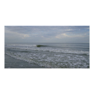 The Tides Come In Photo Greeting Card