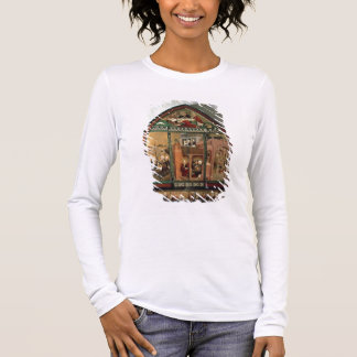 The Tiefenbronn Altarpiece (closed) 1432 (tempera Long Sleeve T-Shirt