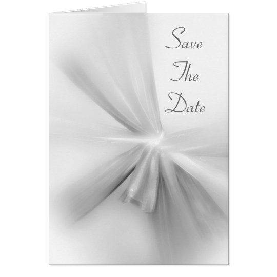 The Ties That Bind Wedding Invitation Card