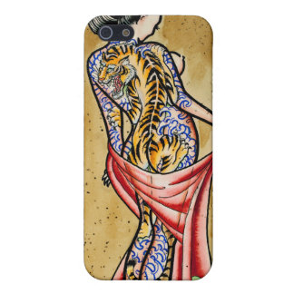 """The Tiger Tattoo"" iPhone 5/5S Cases"